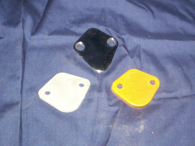 BRD Racing: Fuel Pump Block Off Plate for 2TC and 3TC Engines