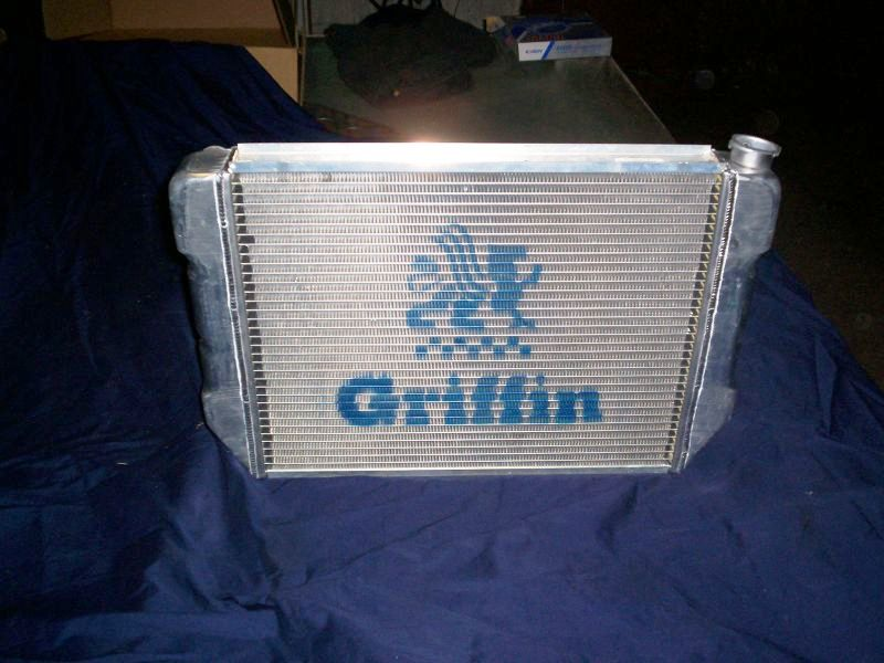 BRD Racing: 71-87 Corolla Radiator Made by Griffin