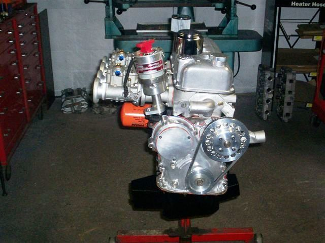 Toyota 3TC engine With Weber Sidedraft Carburetor
