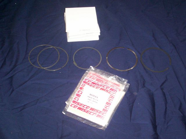 BRD Racing: Wiseco Piston Rings for 2TC and 3TC