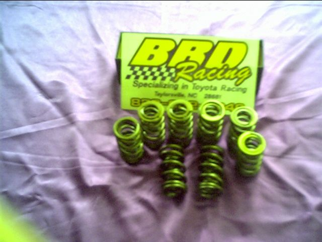 BRD Racing: Dual Valve Springs For Toyota 2TC and 3TC
